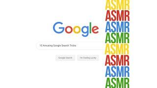 10 Amusing Google Search Tricks | ASMR Whisper