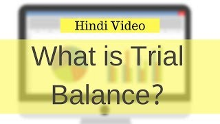 What is Trial Balance with Example - Hindi Video