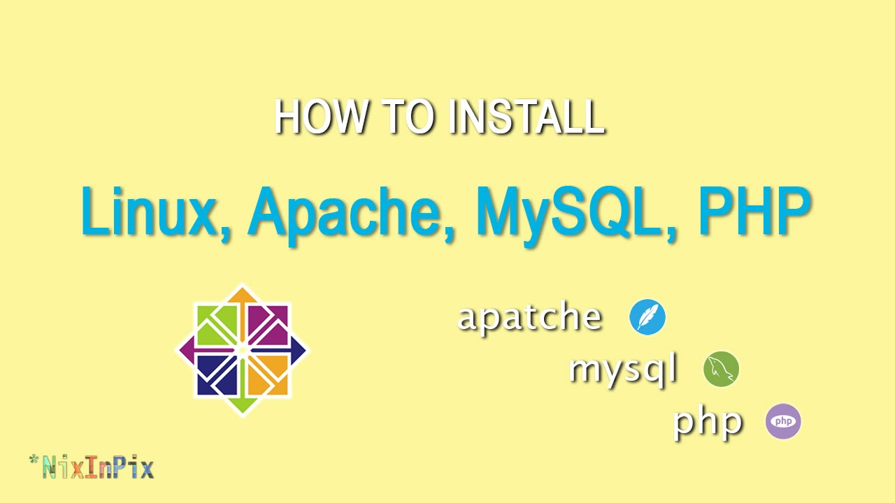 How To Install Linux, Apache, MySQL, PHP LAMP Stack On CentOS 7   YouTube
