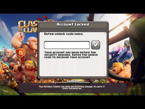 How To Get Back Permanently Banned Clash of Clans Account