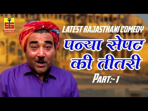 Rajasthani 2017 Comedy (पन्या सेपट की तीतरी Part 1) Very Funny Video   Shankar Cassettes