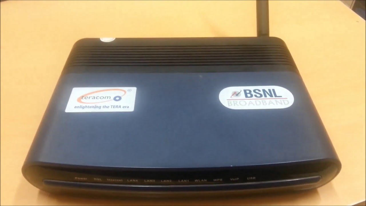 How to Configure BSNL Teracom modem [ T2-B-Gawv1.4U10Y-BI] Video