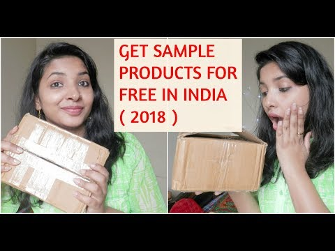 GET FREE SAMPLE PRODUCTS IN INDIA ( 2018 ) || HOW TO || TRICKS IN HINDI