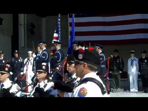 Tucson fire & police honor 9/11 heroes, victims