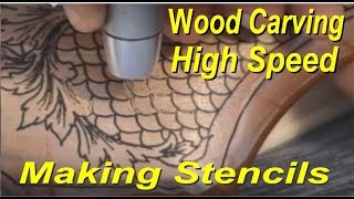 Gun Stock Engraving Equipment Wood, Metal, Glass, Fishscale Grip, Power Carver