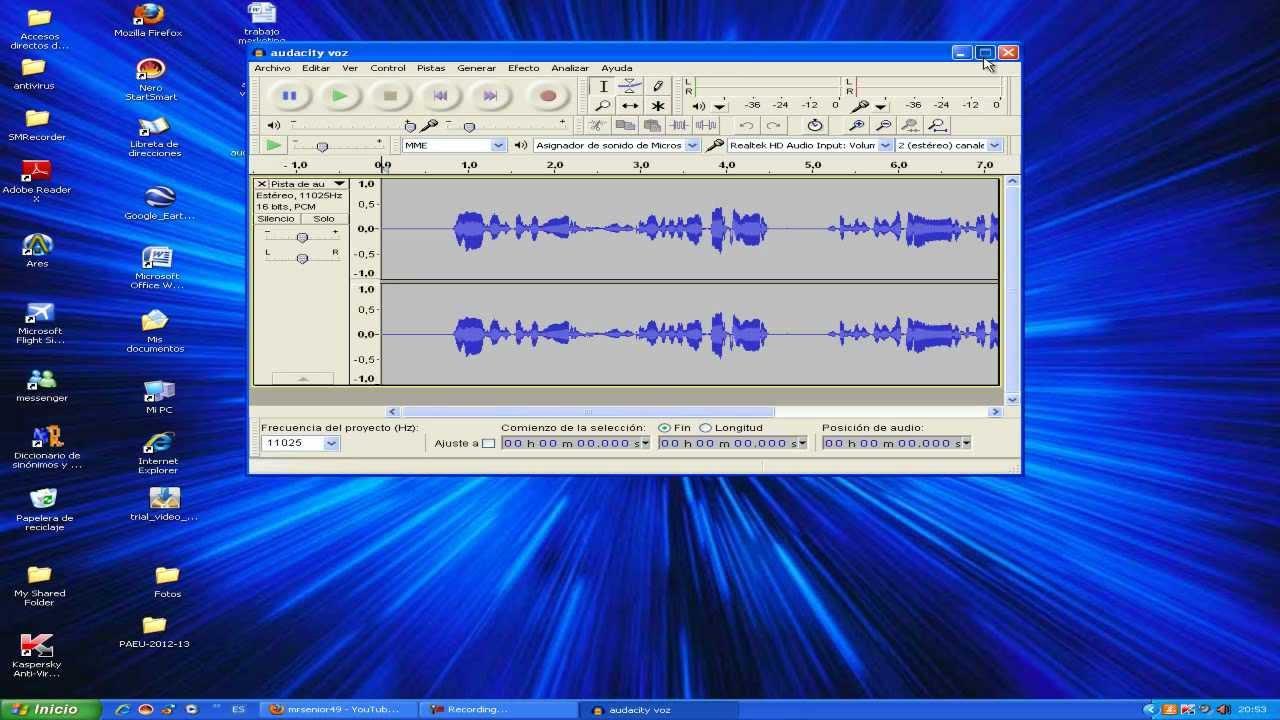 Como Utilizar El Programa Audacity Para Grabar Voz