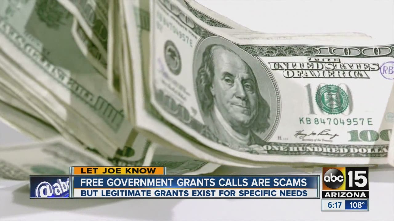 Free government grant calls are scams