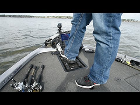 Keith Combs Reviews the Minn Kota Ultrex Foot Pedal