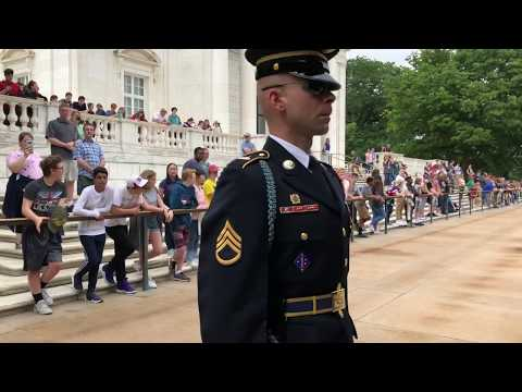 Arlington National Cemetery - Changing Of The Guard - Tomb Of The Unknown Soldier - By Dan Gritsko
