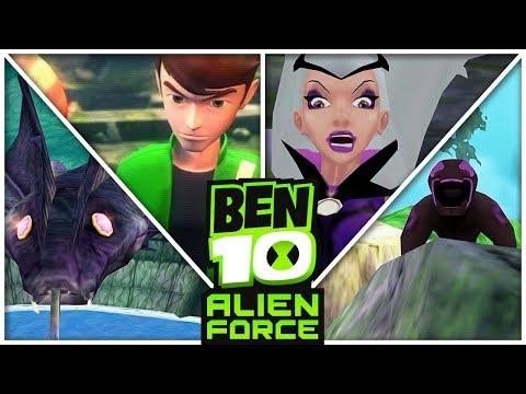 BEN 10: VILGAX ATTACKS #03 - ENCANTRIZ! (PS2) thumbnail