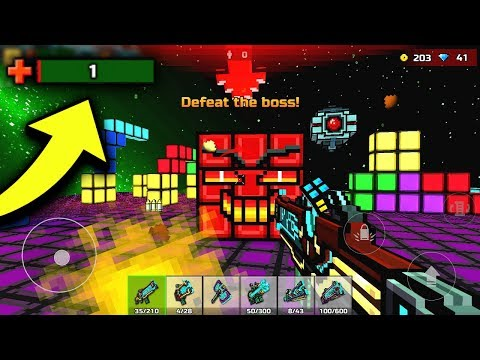 1 HP LEFT...HOW DID I SURVIVE?! | Pixel Gun 3D Campaign World 4 FINAL Boss Battle & Ending!