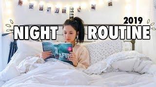 NIGHT ROUTINE 2019   Healthy Recipe + Skincare + Self-care