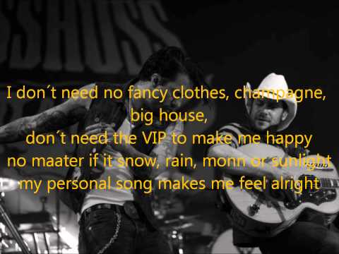The BossHoss -My Personal Song (Official Lyrics Video)