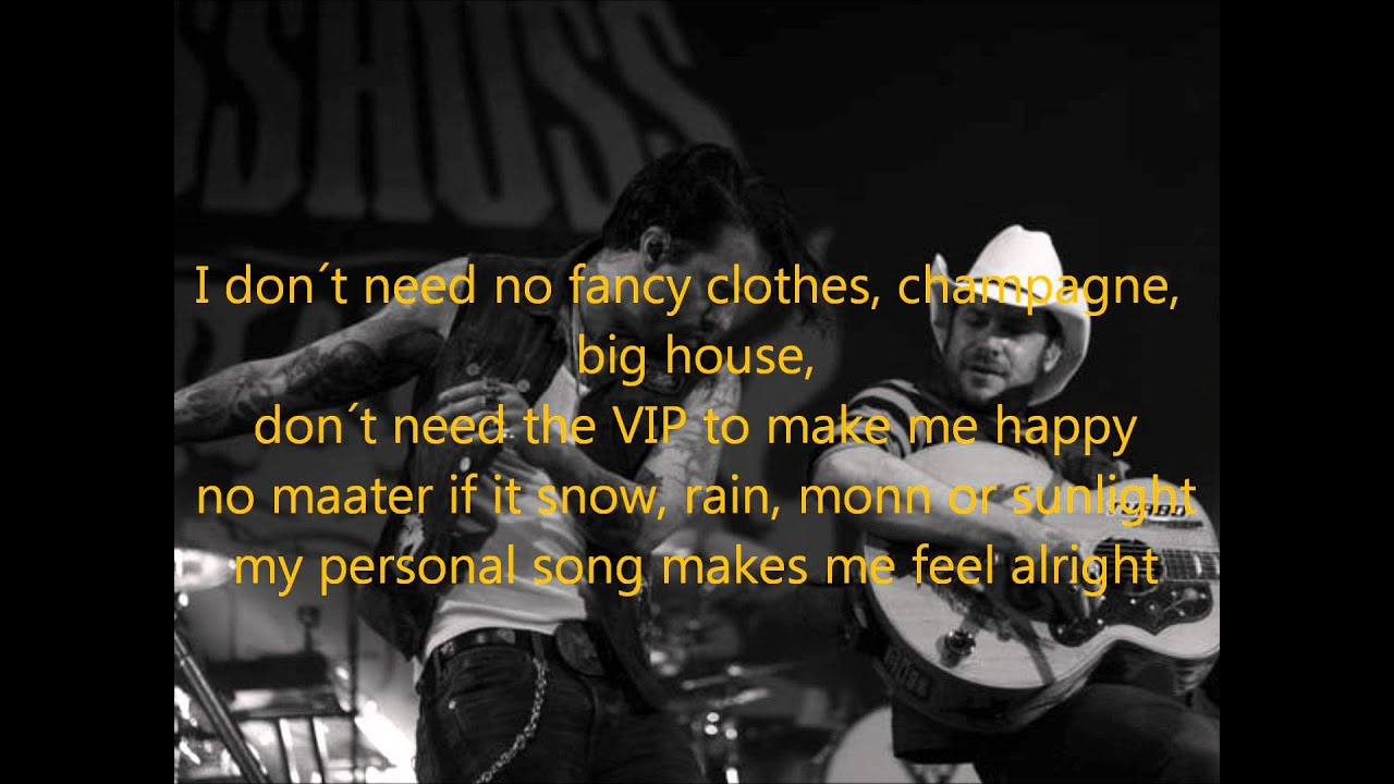 personal song lyrics