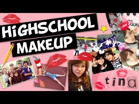 Trang Điểm Lúc Còn Đi Học Cấp 3 - My Highschool Makeup | Tina