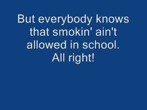 SMOKING IN THE BOYS ROOMWITH LYRICS