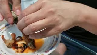 How to eat Gooseneck Barnacles