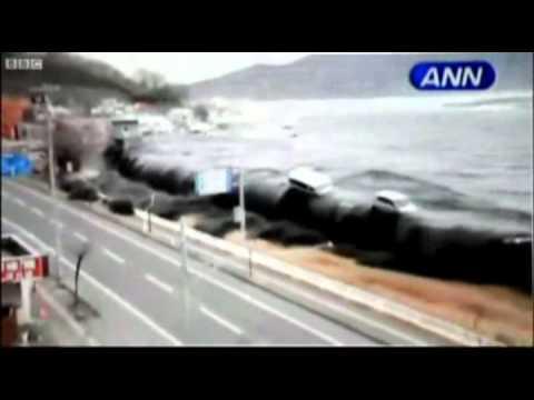 Япония цунами видео смотреть