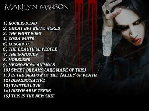 Marilyn Manson Greatest Hits  Best Of Marilyn Manson