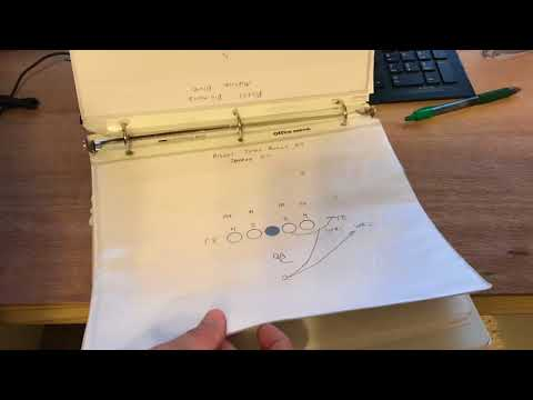 My First Football Playbook - Youth Football Playbook