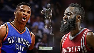 """Russell Westbrook vs James Harden MVP Mix 