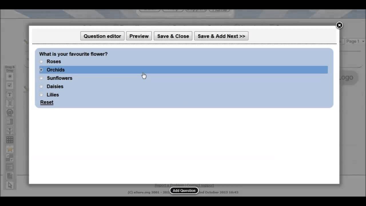 esurv org the best free online survey maker youtube