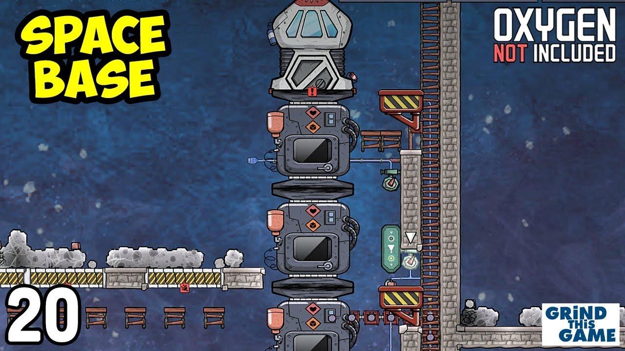 SPACE INDUSTRY BASE #20 - Hydrogen Engine Rocket - Oxygen Not Included [4k]