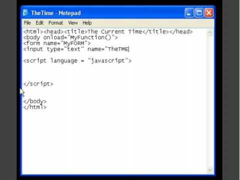 Display current datetime javascript