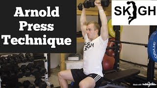 Arnold Press (Shoulders) [SKIGH Training EP. 10]