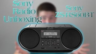 Sony CD/Radio Player Unboxing
