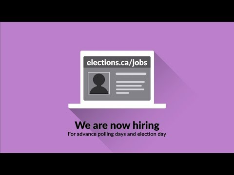 Work As A Poll Worker | Elections Canada