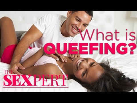 What is queefing caused by