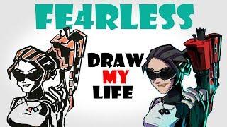 Draw My Life : Fe4RLess