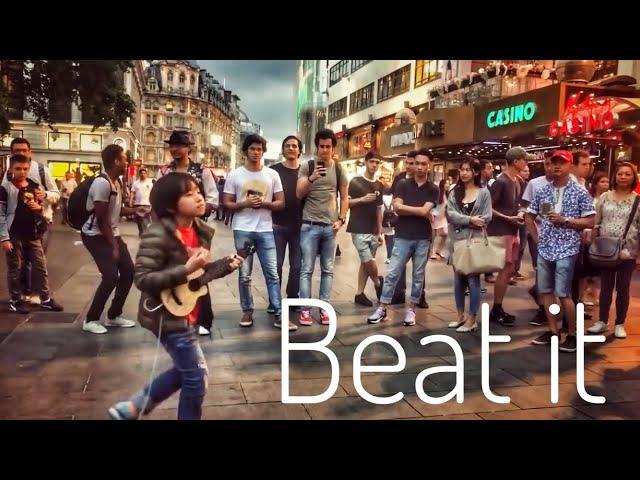 Beat it – Michael Jackson, Feng E performed in London