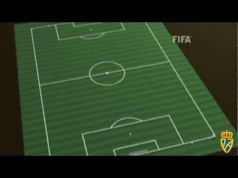 Regla 1 el terreno de juego youtube for Regla fuera de juego futbol