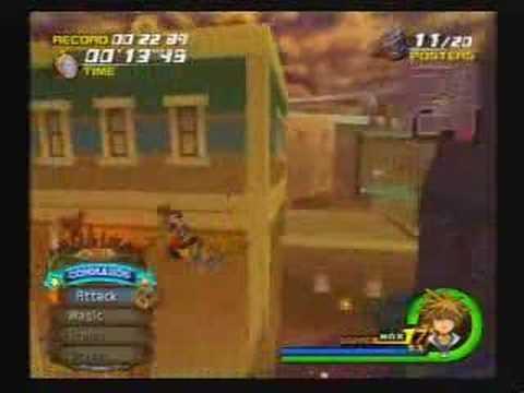 """Kingdom Hearts 2 - Poster Duty 22""""83"""