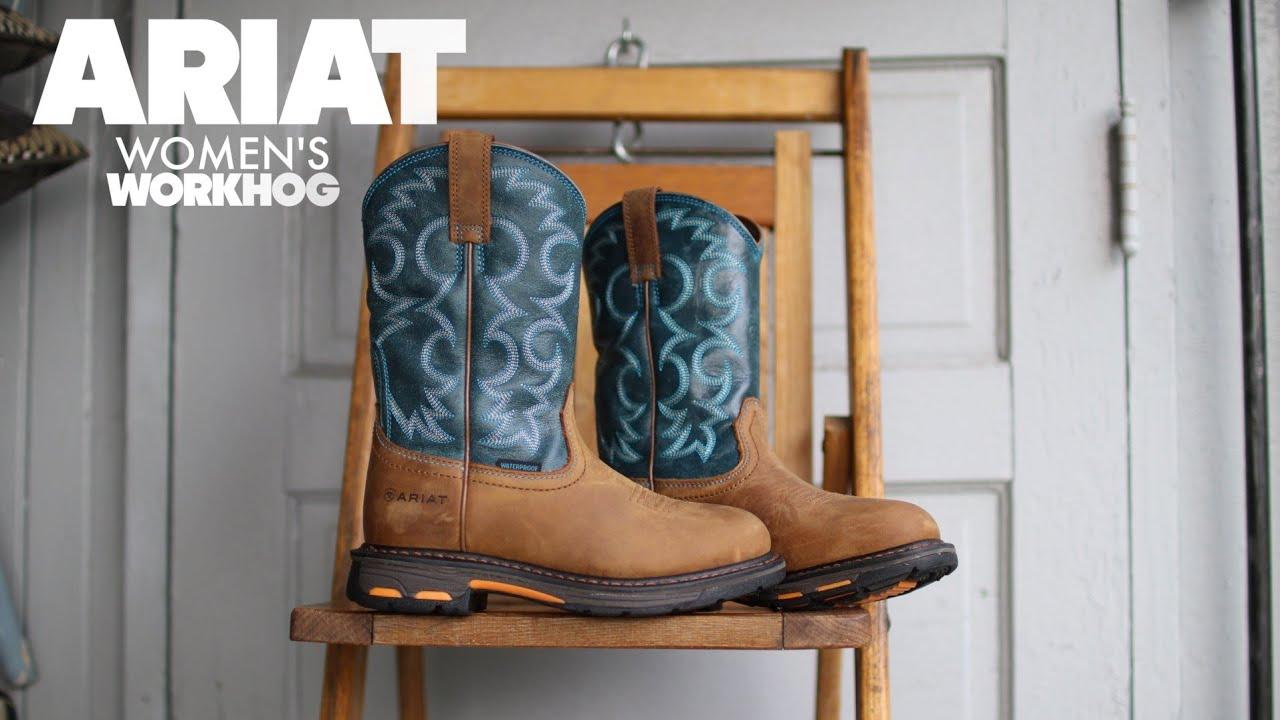 d6b5f0e22a3 ariat women's workhog h2o work boot