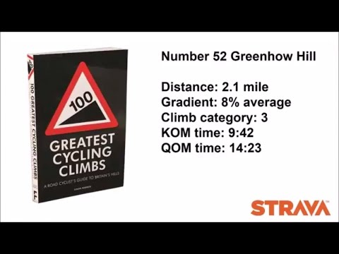 Greenhow Hill – No52 of the top 100 climbs in the UK - North Yorkshire UK