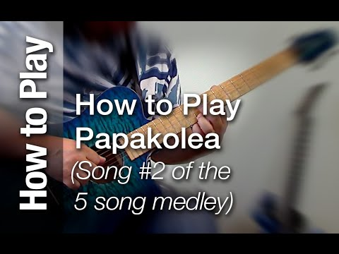 "How to Play ""Papakolea"" on the Slack Key Guitar (Open G Tuning - Taro Patch- Ki Ho"