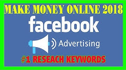 #1 How To Make Money Online Fast 2018 - FB Ads Profit Maximizer Bootcamp Breaking Out Keywords