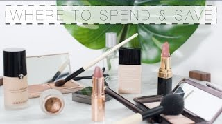 Makeup: Where To Spend & Where To Save   The Anna Edit