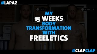 Marc Markowski 15 Weeks Freeletics Transformation