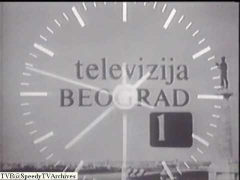 TV  Beograd - 5000. Dnevnik - sat i špica (1974)