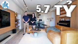 ẤN TƯỢNG Không Gian Sống  TỐI GIẢN  tại Căn Hộ Seasons Avenue rộng 125m2 Trị Giá 5,7 TỶ - NhaF [4K]