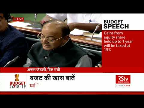 Union Budget 2018-19 | FM on Corporate Tax and Duties