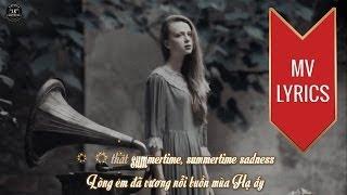 Summertime Sadness | Lana Del Rey | Lyrics [Kara + Vietsub]