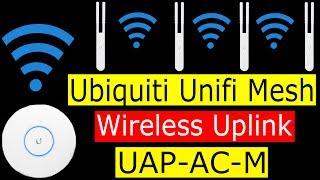 Ubiquiti Unifi Maillage UAP-AC M de liaison sans Fil Tutoriel Vidéo et d'Enregistrement d'Écran