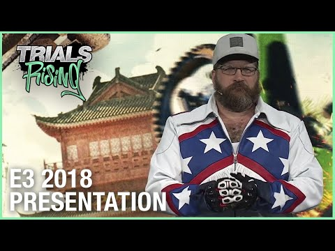 Trials Rising: E3 2018 Conference Presentation | Ubisoft [NA]