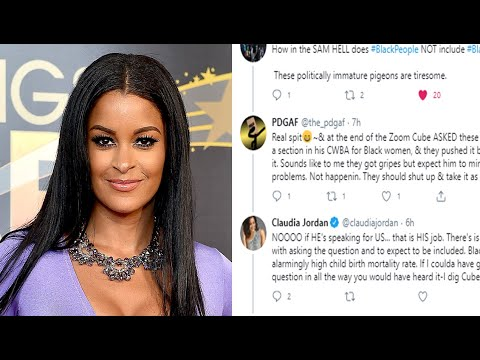 "Claudia Jordan's Response To My ""Cocktails With Queens"" Critique 
