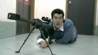50 Good Reasons to Stand the Heck Back - Socomgear Barrett M82A1 version 2 Review (HD) - RWTV